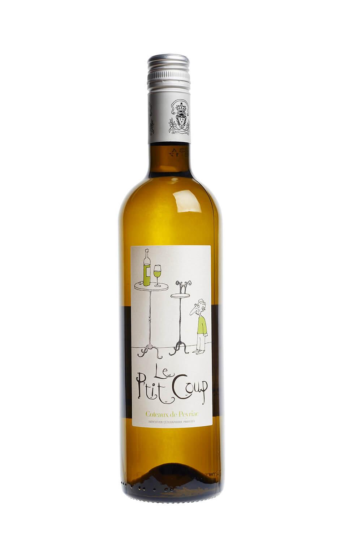 Le P´tit Coup, Coteaux de Peyriac, IGP, Blanc