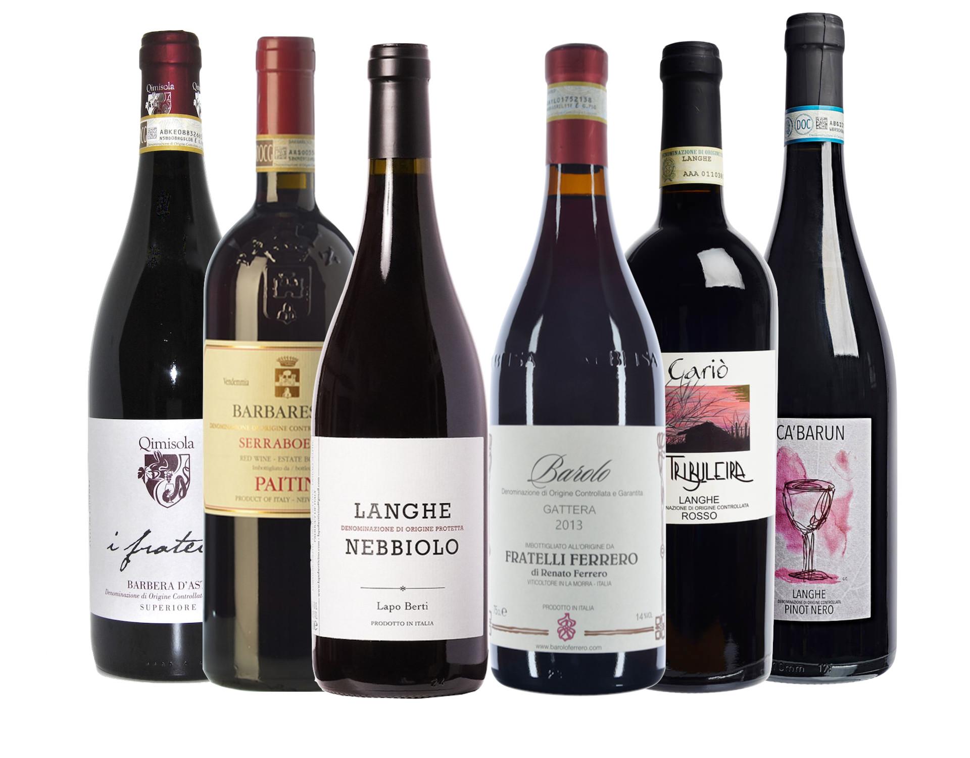 Piemonte vin smagekasse V. 1.0