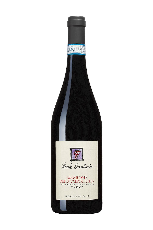 Monte Santoccio, Amarone Classico Della Valpolicella DOCG 2016